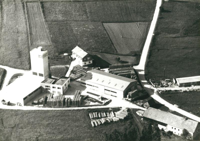 Hehenberger Bau Peilstein, Firmengelände in den Anfängen
