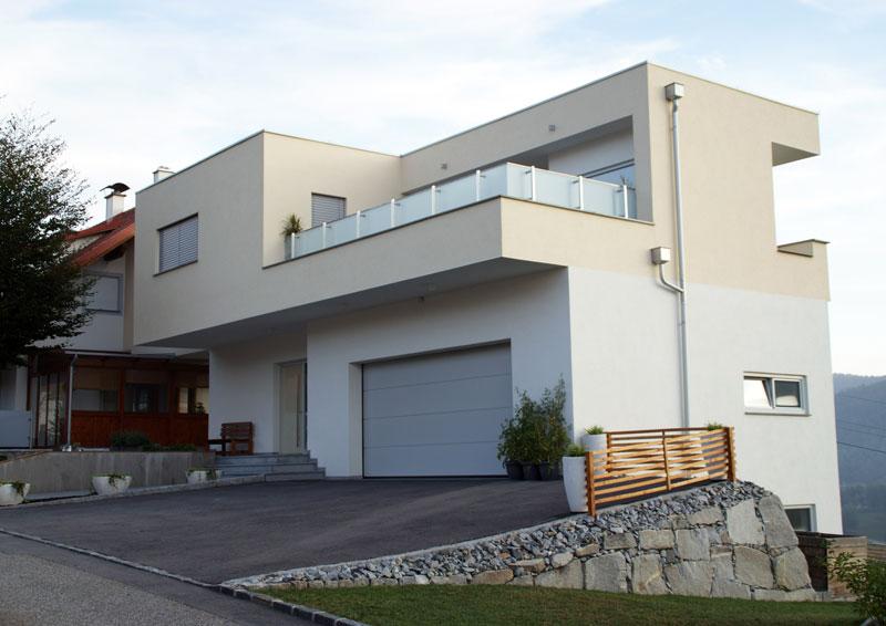 Rohbau von Hehenberger Bau, Peilstein, Rohrbach, Mühlviertel