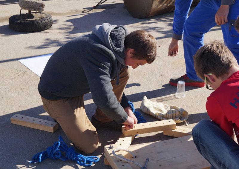 Lehre die Aufbaut bei Hehenberger Bau