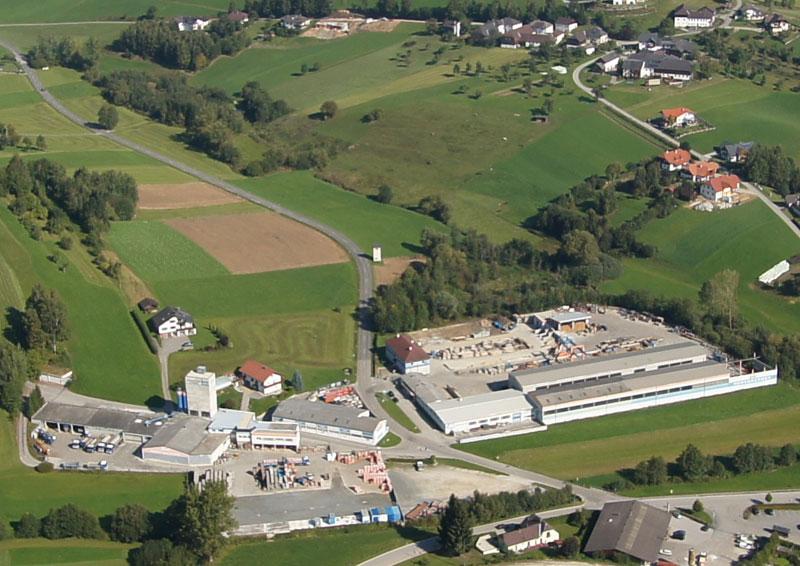 Hehenberger Bau Peilstein, Luftaufnahme