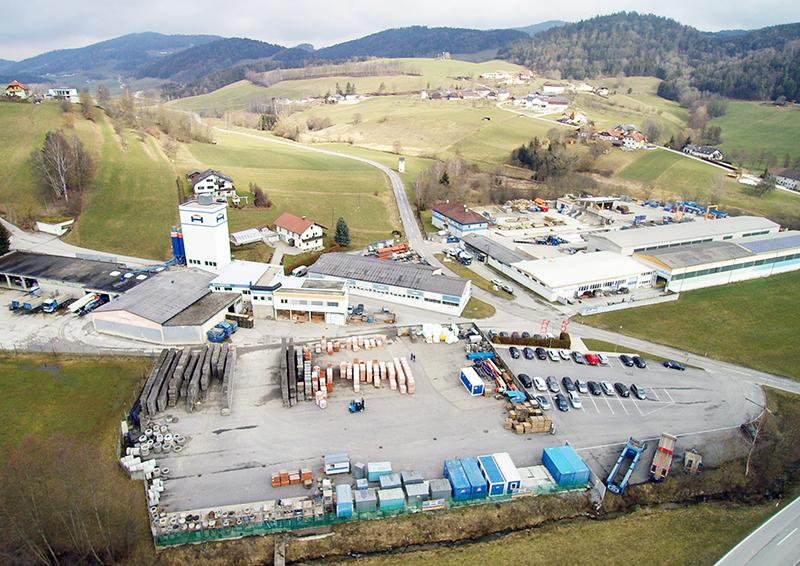Hehenberger Bau Peilstein, Luftaufnahme 2016