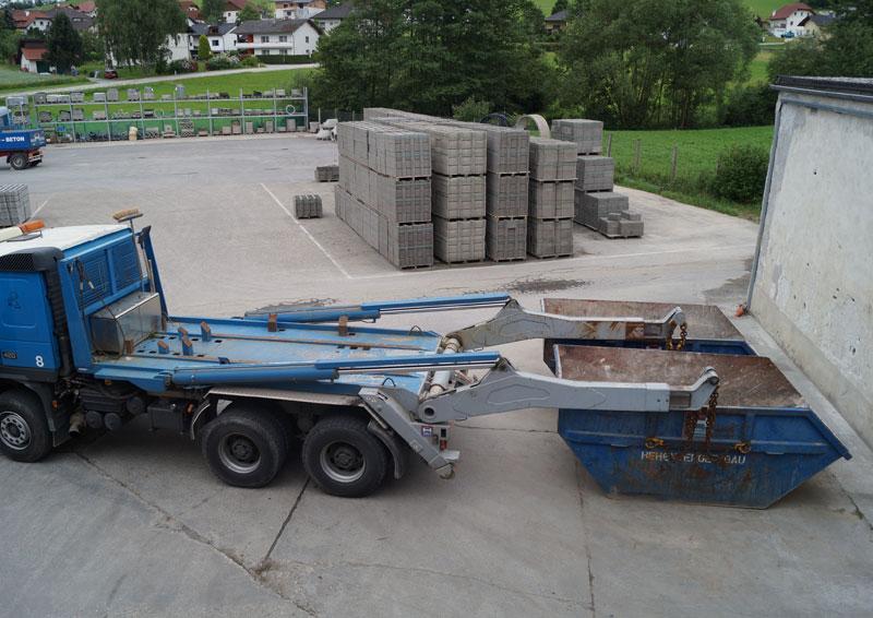 Hehenberger Bauschutt-Containerverleih im Bezirk Rohrbach