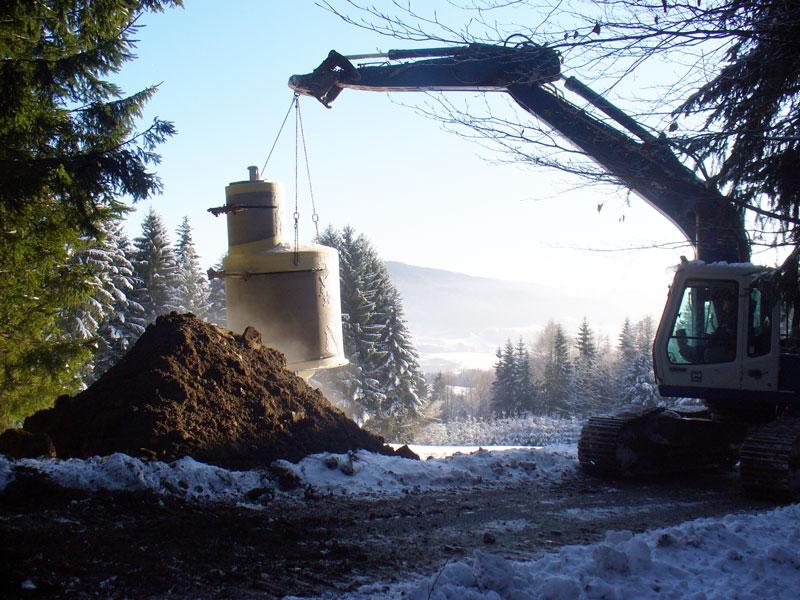 Kanalarbeiten von Hehenberger aus dem Bezirk Rohrbach